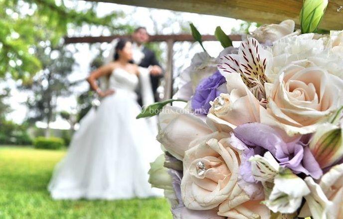 Detalles del ramo de novia