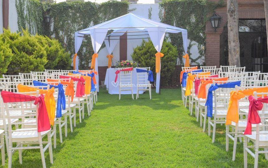 Salón y Jardín Los Pinos