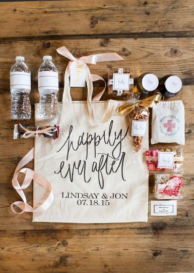 Tote bag welcome bag