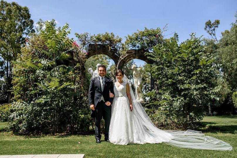Eva y Gerardo