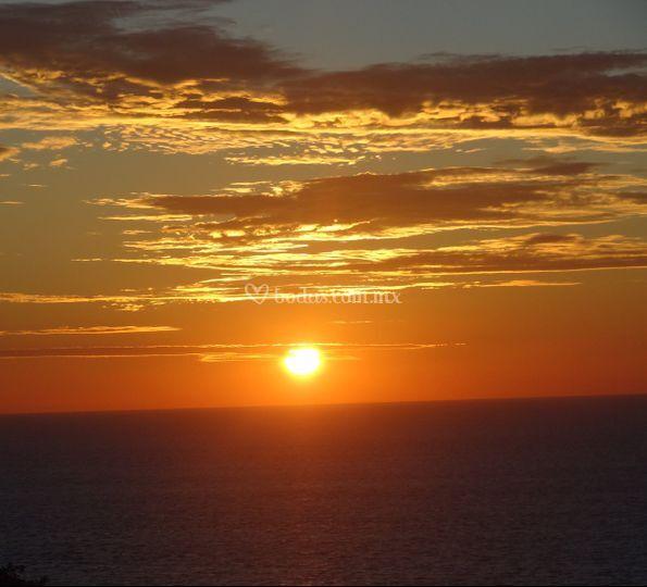 Una romántica vista al mar