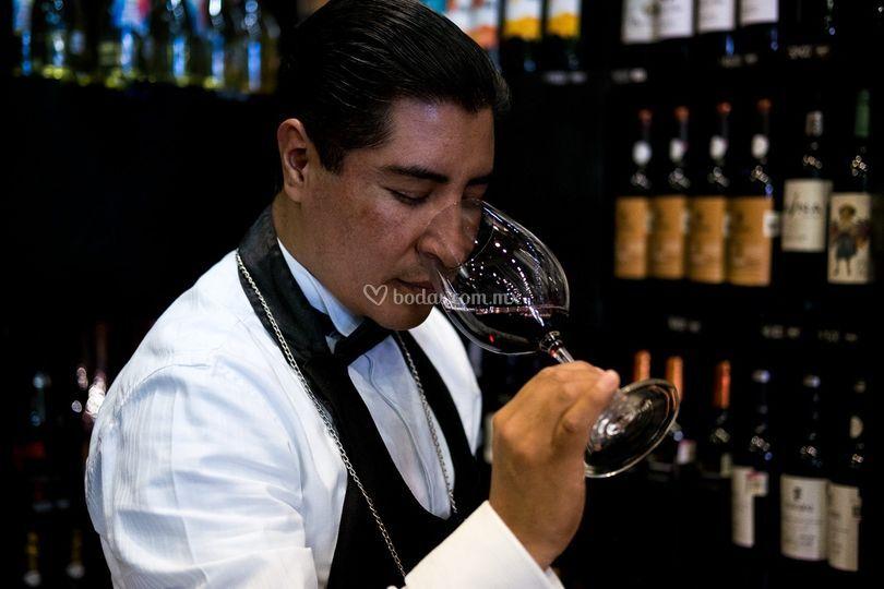 Sommelier Orlando Pacheco