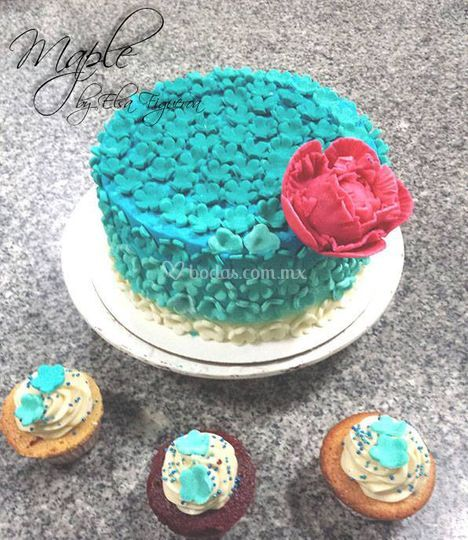 Pestel y cupcake
