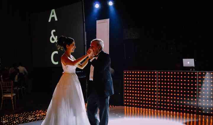 Baile con el papá