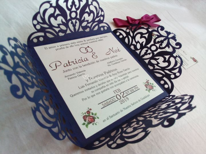 Invitación ornamental