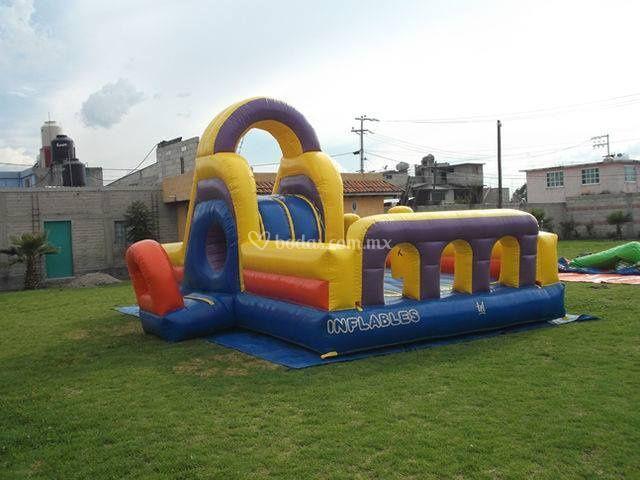 Juegos inflables en Toluca