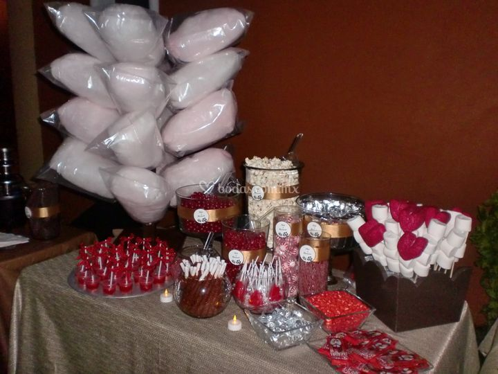 Barra de dulces