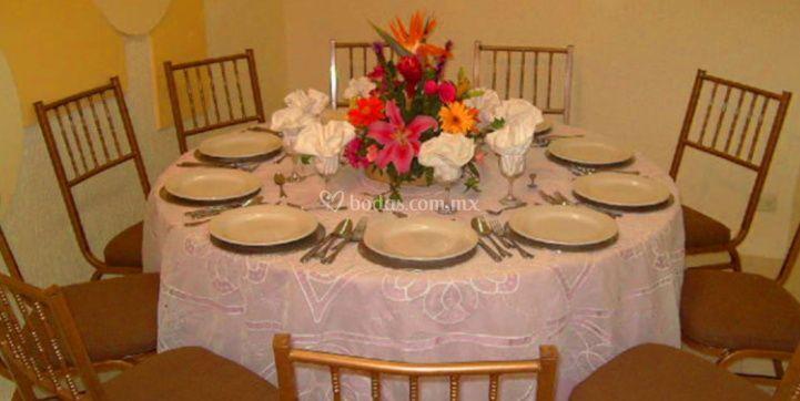 Decoración de la mesa