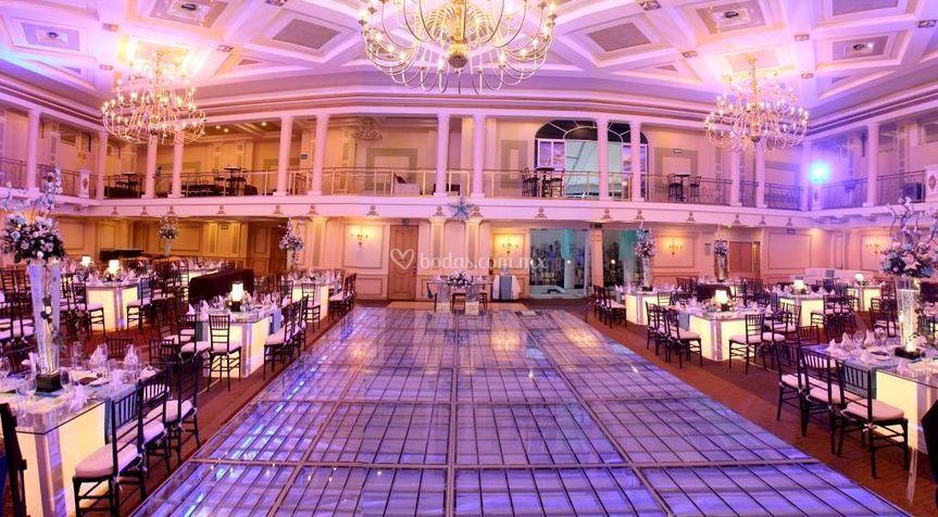 Panoramica Royal Rizzo de Salón Royal Rizzo