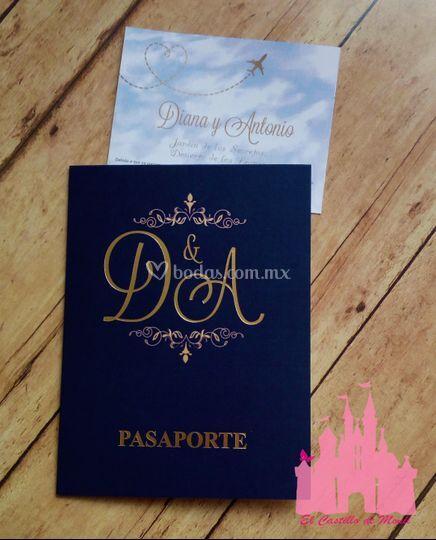 Tipo Pasaporte De El Castillo De Monii Foto 30