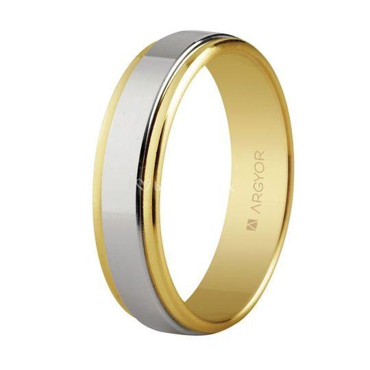 Argolla de oro 14k - 5250158
