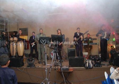 Escenario del grupo