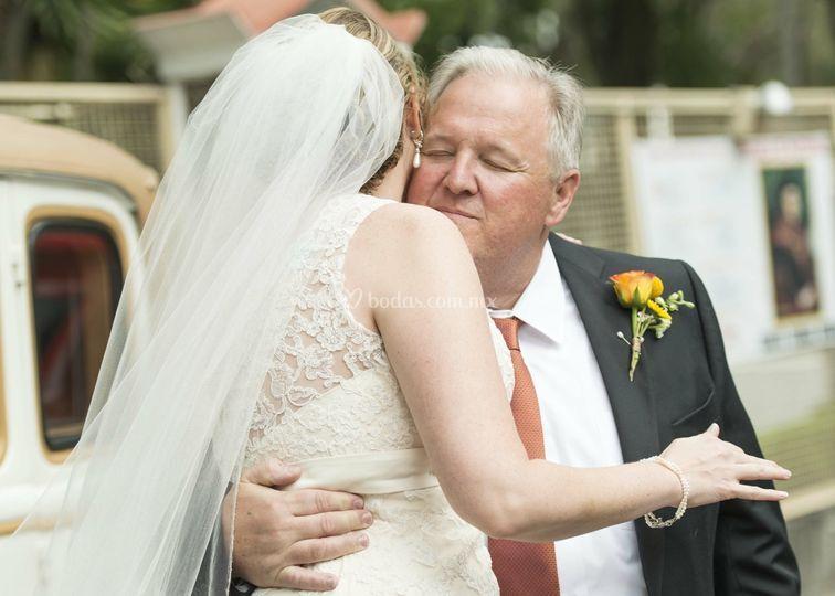 La novia y el padre