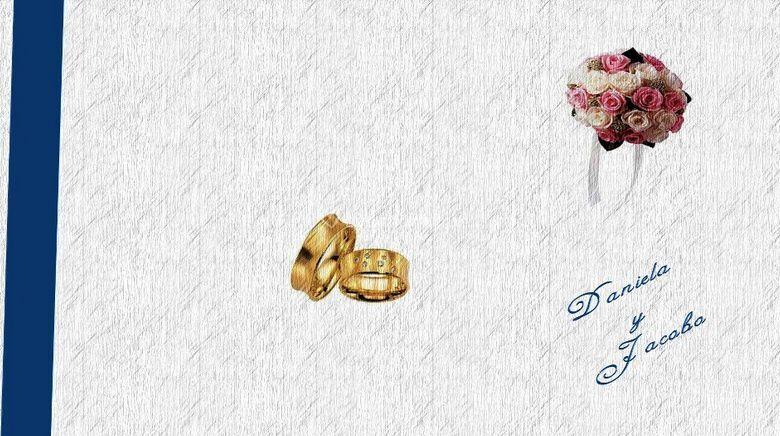 Diseños de tarjetas para matrimonio