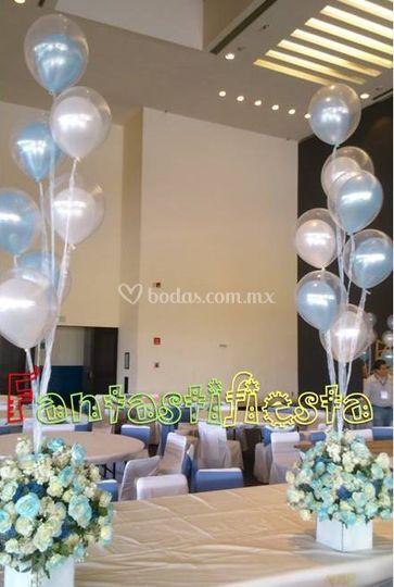 Bouquet globos látex