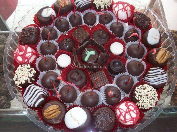 Chocolates para bodas