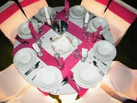 Montaje en rosa