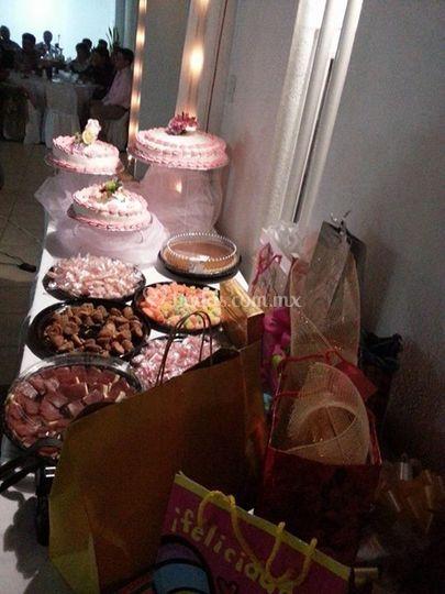 Banquete de fiesta