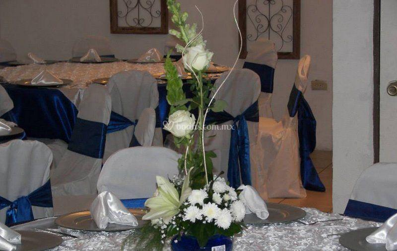Delicados centros de mesa
