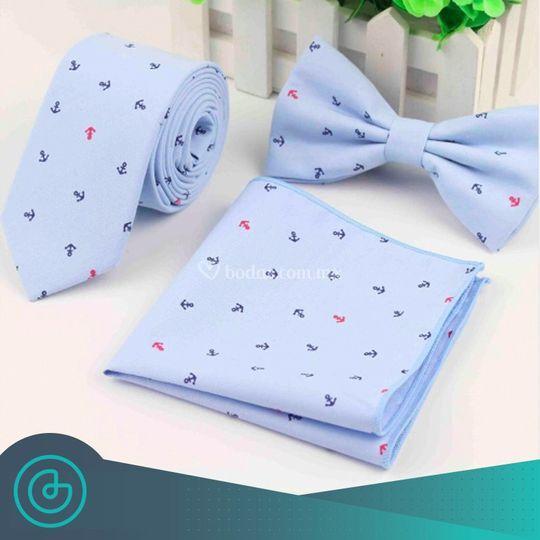 Moño o Corbata + Pañuelo