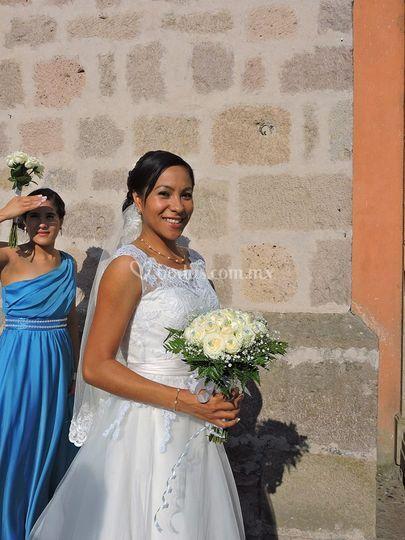 Hermosos ramos de novia