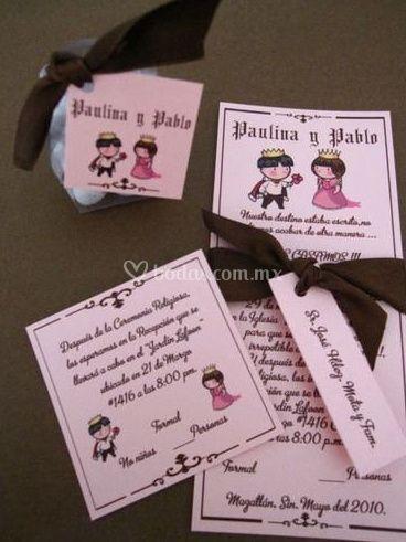 Tarjetas para tu boda