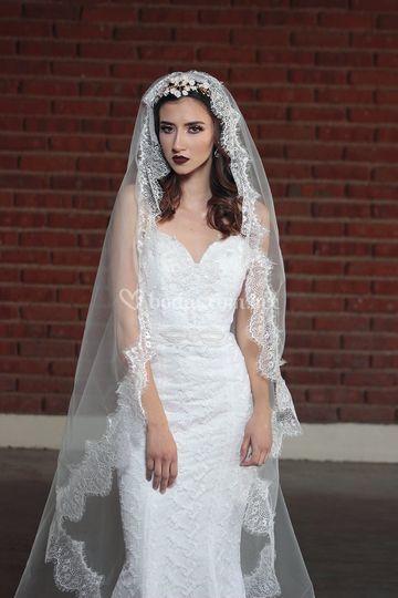 Mantilla de novia en León, Gto