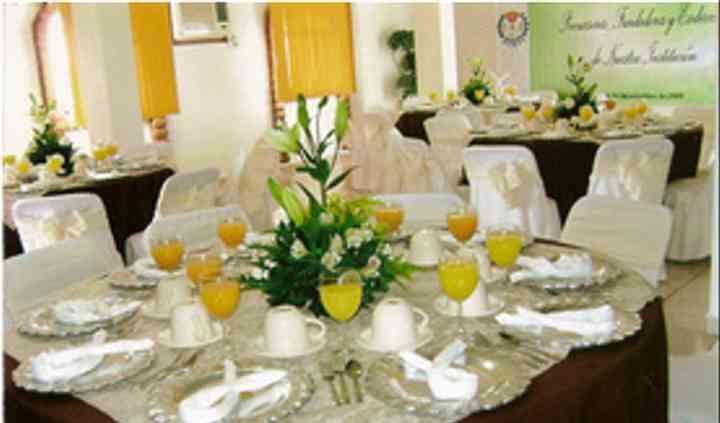 Ambientación de las mesas