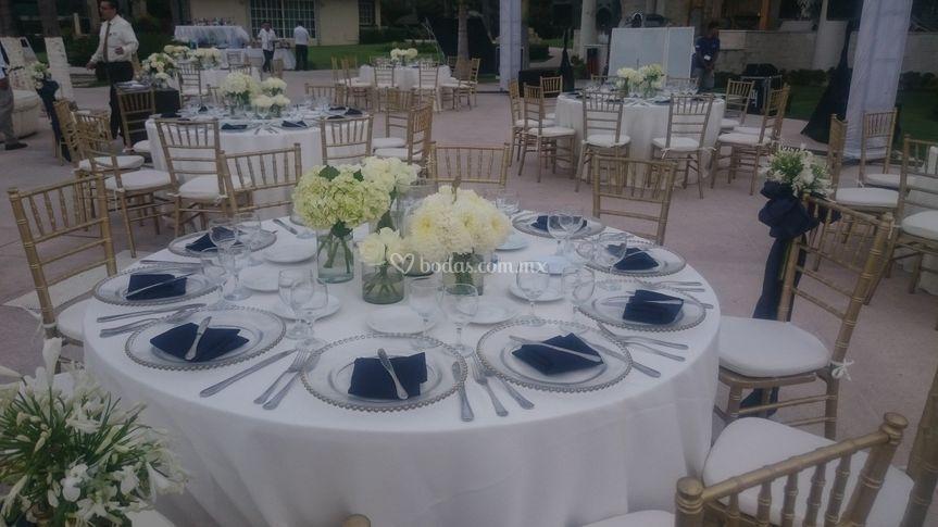 Mesa banquete de Occidental Nuevo Vallarta