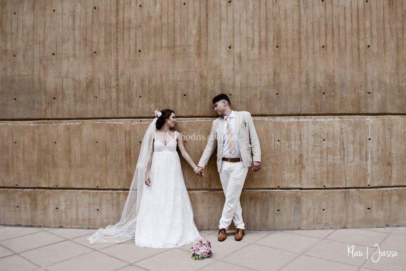 Sesión boda forúm cultural