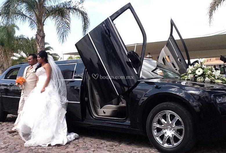Autos para bodas