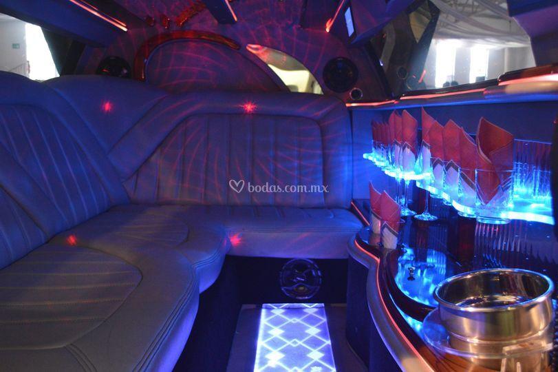 Interior limo rr