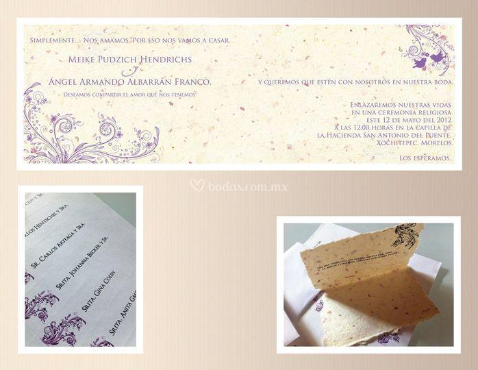 Invitación Meike