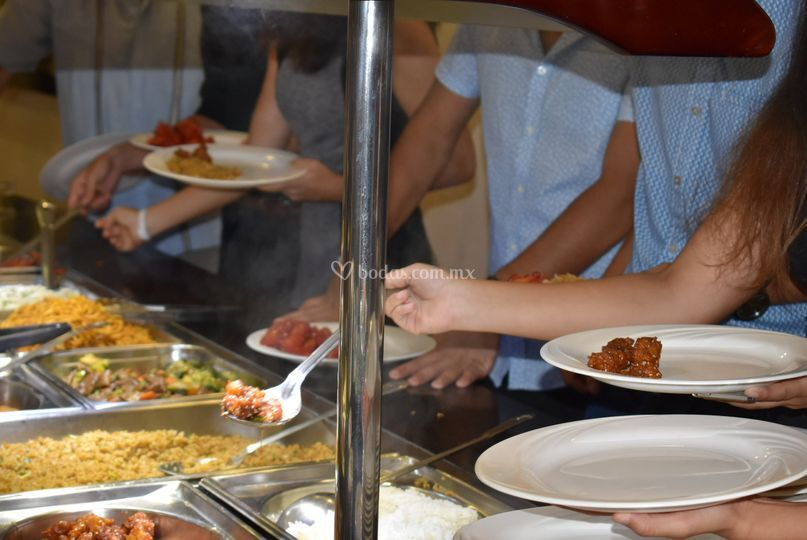 Servicio de buffet