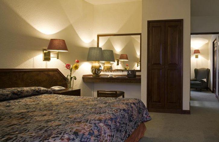 Habitaciones elegantes y cómodas