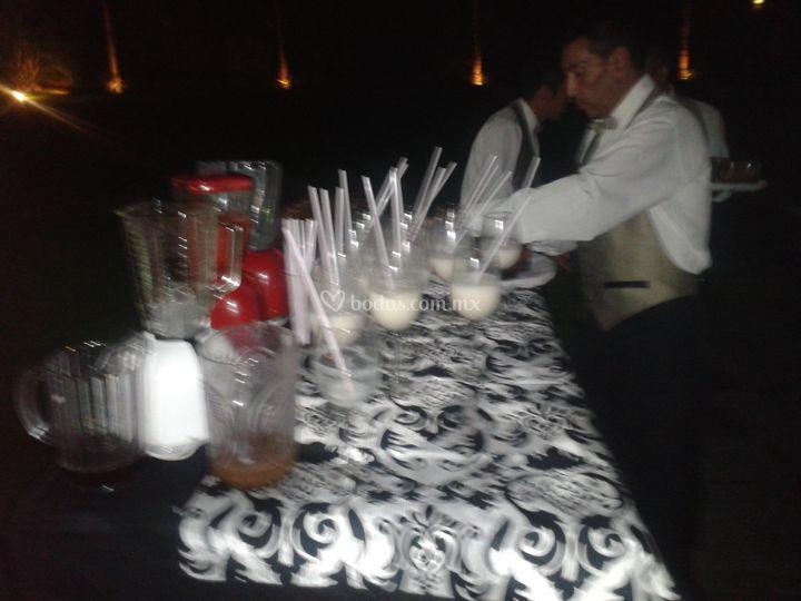 Bebidas para su evento