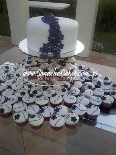 Torre cupcakes