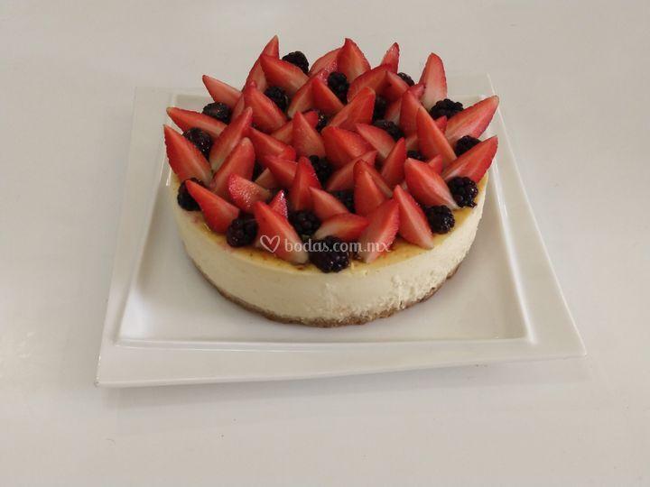 chesse cake frutos rojos