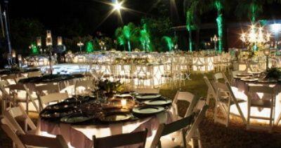 Iluminación de las mesas