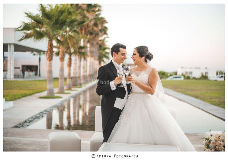Paola y David