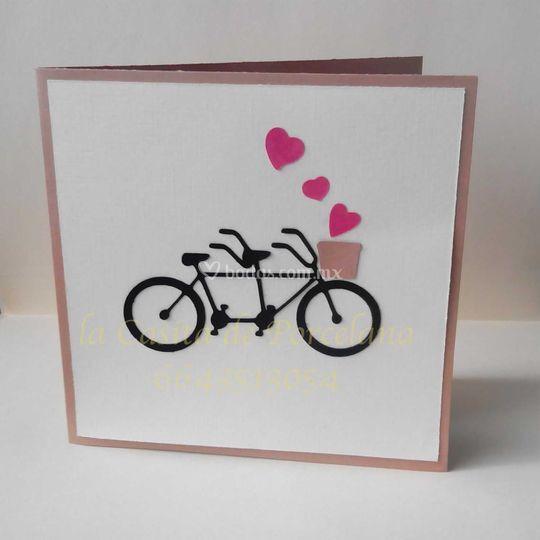 Invitacion bicicletas