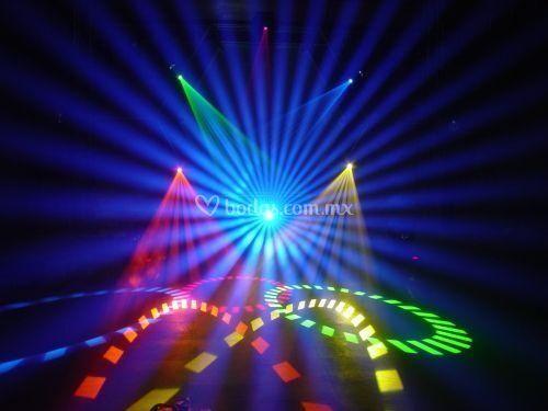 Iluminación multicolor