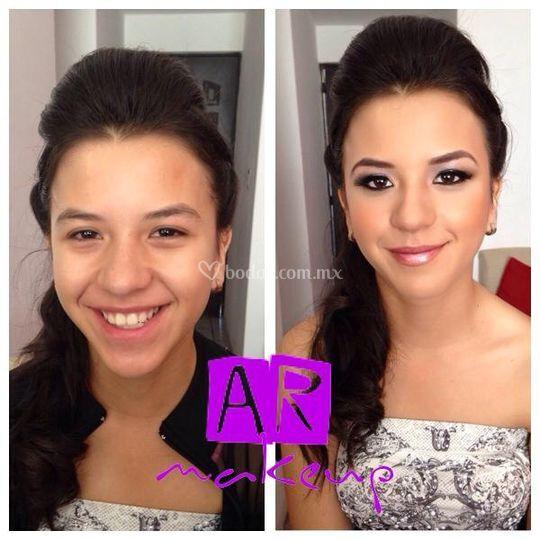 Antes y después xv años