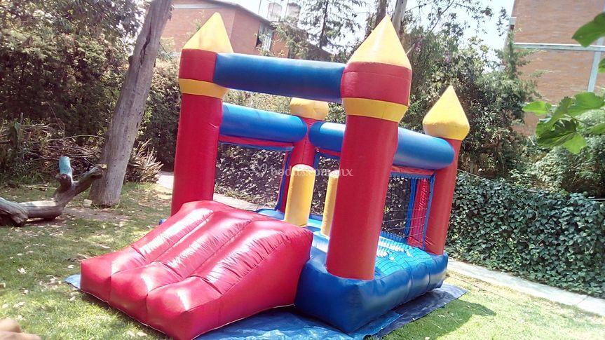 3x4 m castillo inflable