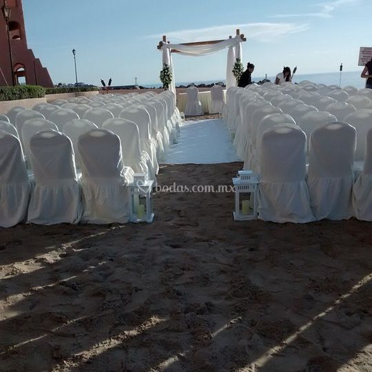 Ceremonia de la playita