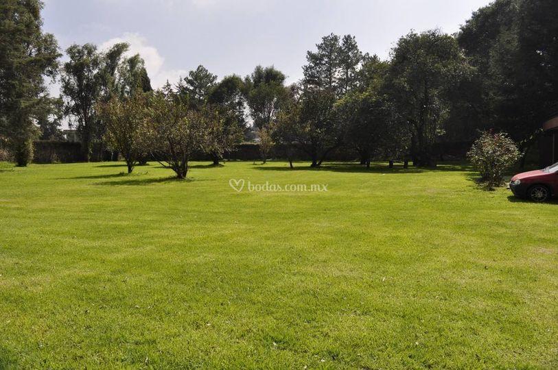 Amplio jard n de terraza los pinos foto 11 for Capillas de velacion jardin de los pinos