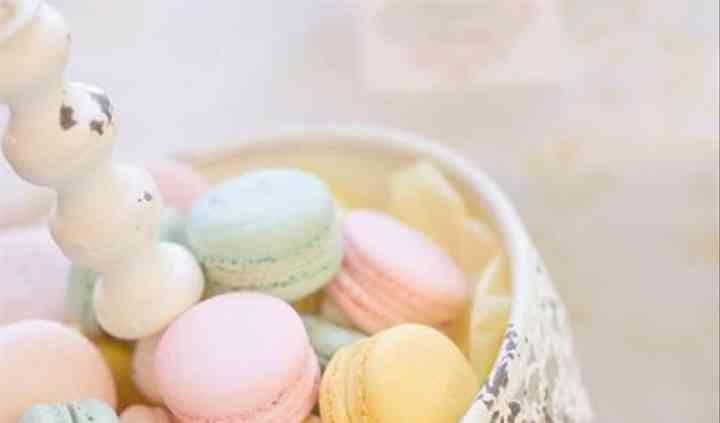 Makarons para mesa de dulces