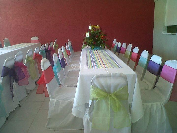 Servicios y banquetes
