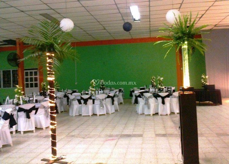 Ambientación de salón
