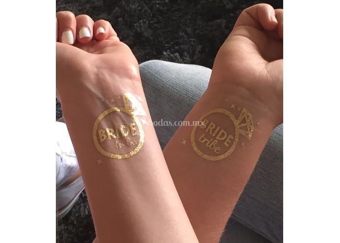 Tatuajes metálicos